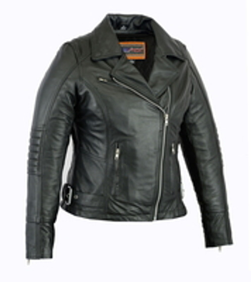 DS835 Women's Updated Lightweight Stylish M/C Jacket