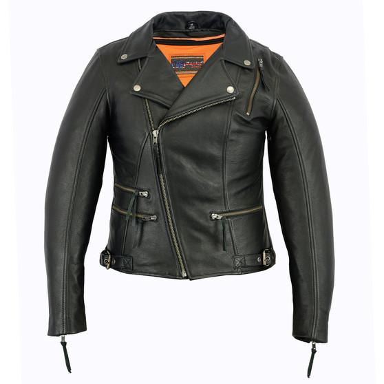 DS804 Women's Updated Stylish M/C Jacket