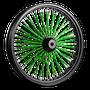 Mammoth Twisted Spoke Wheels