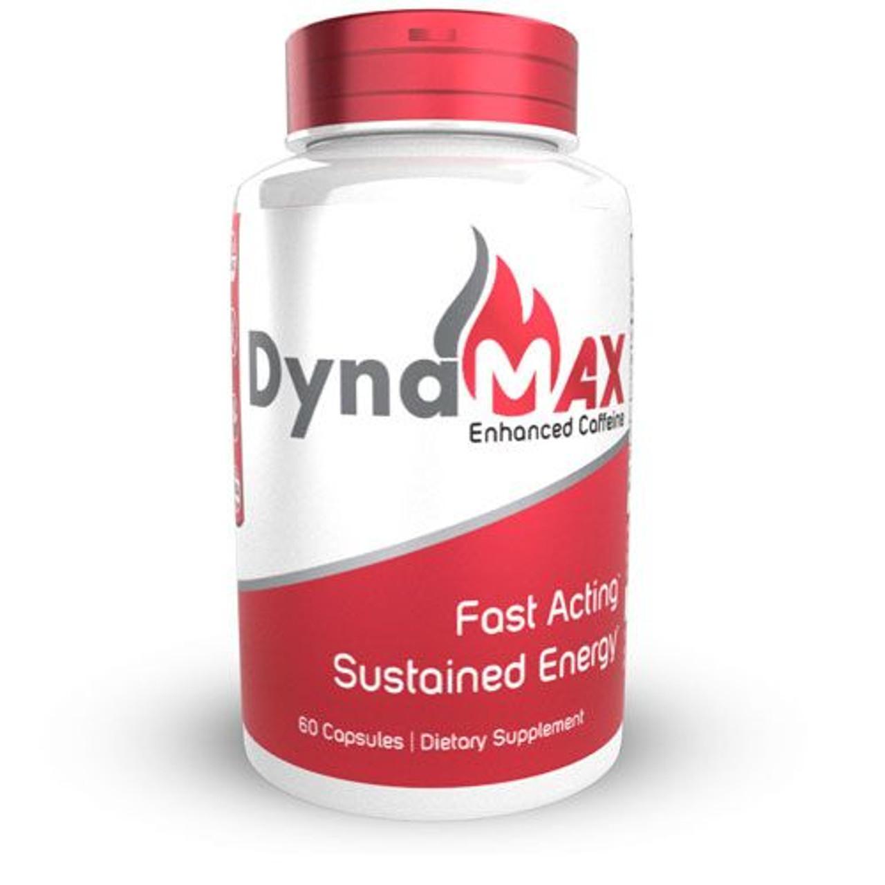 DynaMAX Enhanced Caffeine Capsules   Natural Energy Supplement