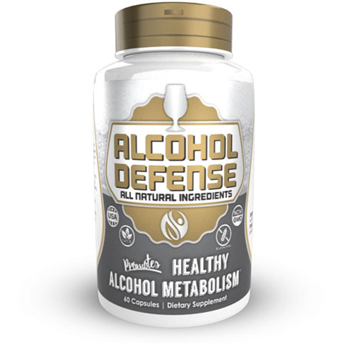 Alcohol Defense Capsules | Anti Hangover Supplement
