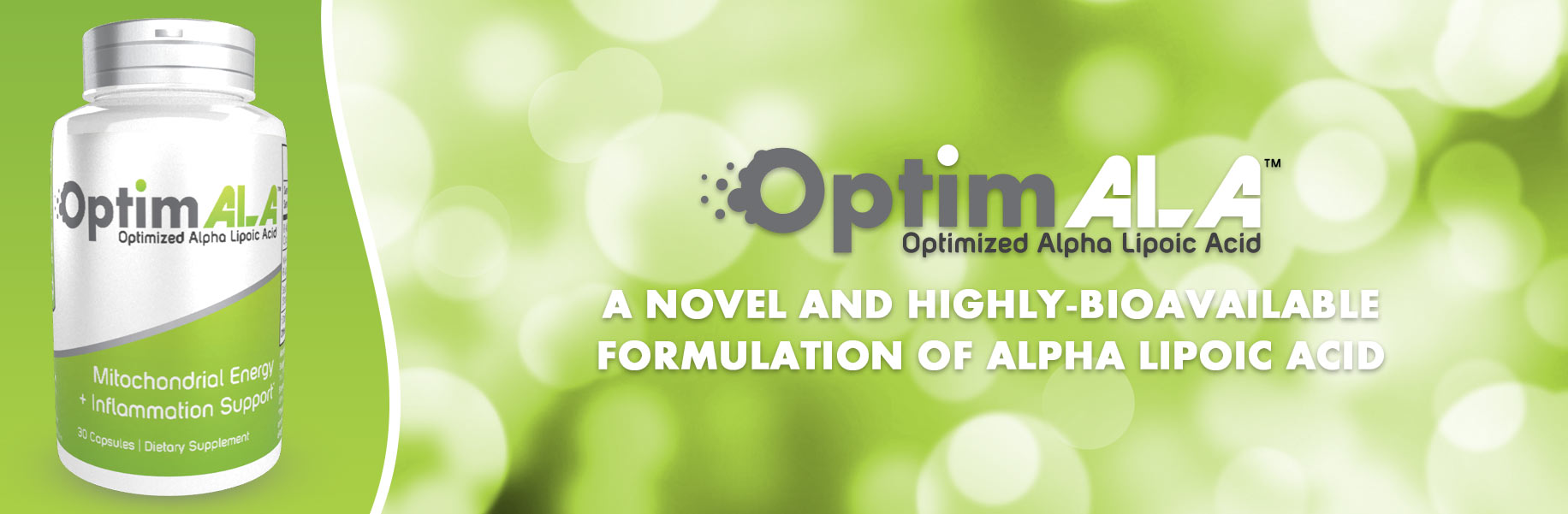 OptimALA Alpha Lipoic Acid Capsules by Natrium Health