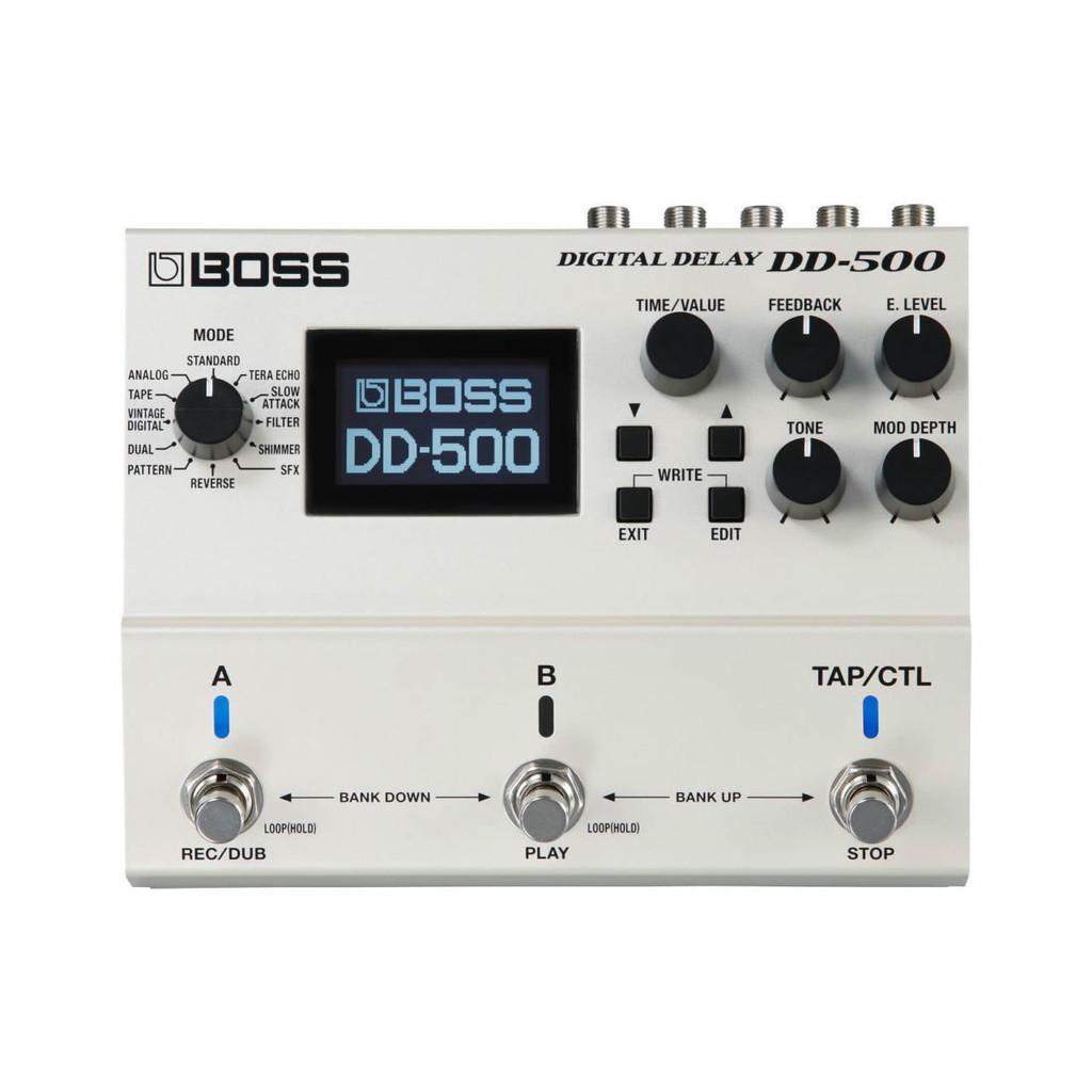 Boss DD500 Digital Delay (DD500) Top Facing