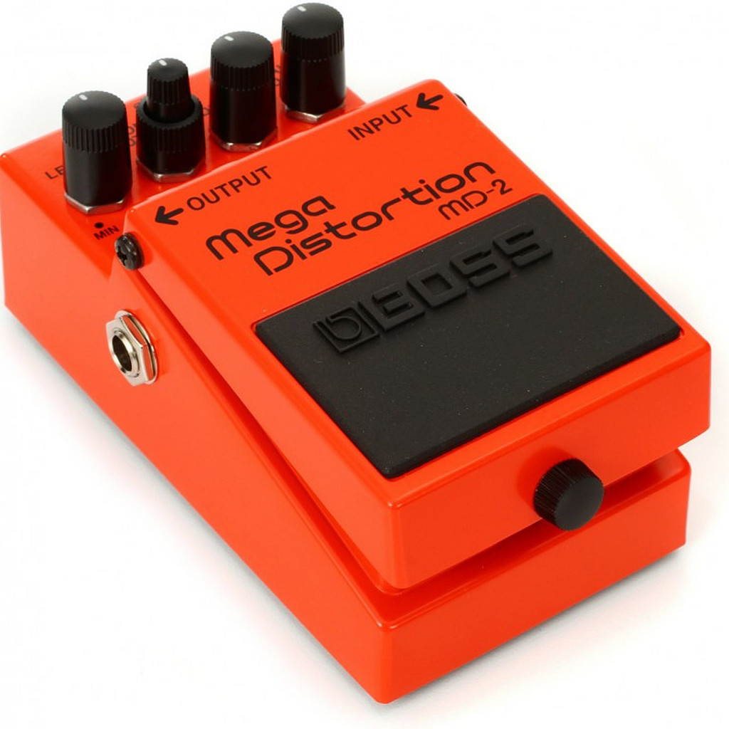 Boss MD2 Mega Distortion - Top Left