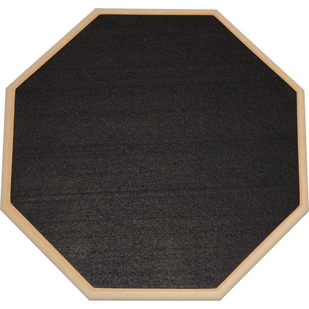 """HQ RF12D 12"""" Double sided gum and neoprene Practice Pad"""