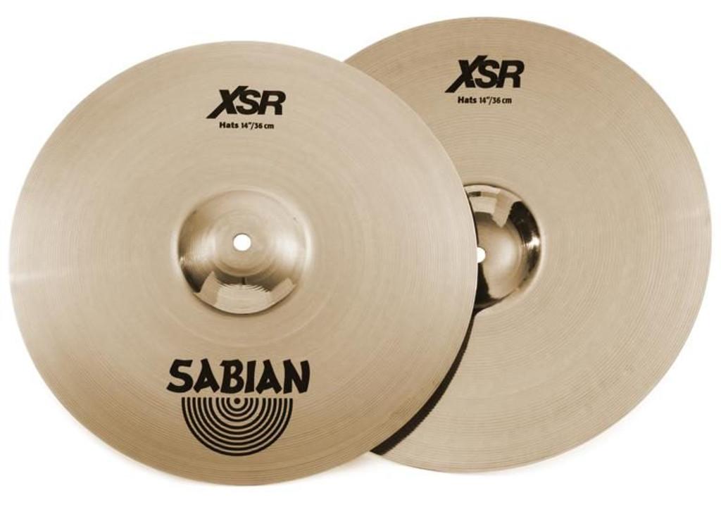 """SABIAN XSR1402B 14"""" XSR Hi Hats (XSR1402B)"""
