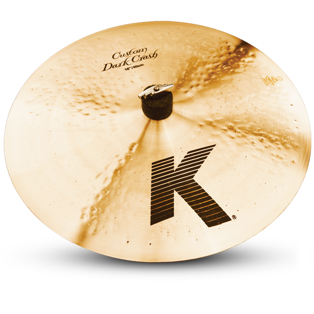 "ZILDJIAN 16"" K Custom Dark Crash"