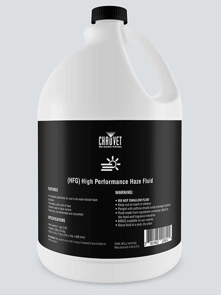 CHAUVET HFG High Performance Water Base Haze Fluid - Gallon