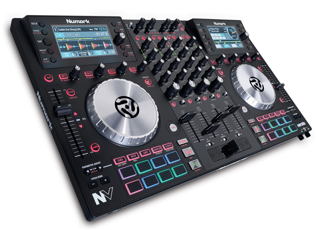Numark Nv 4 Channel Serato Dj Controller W 16 Trigger Pads Big