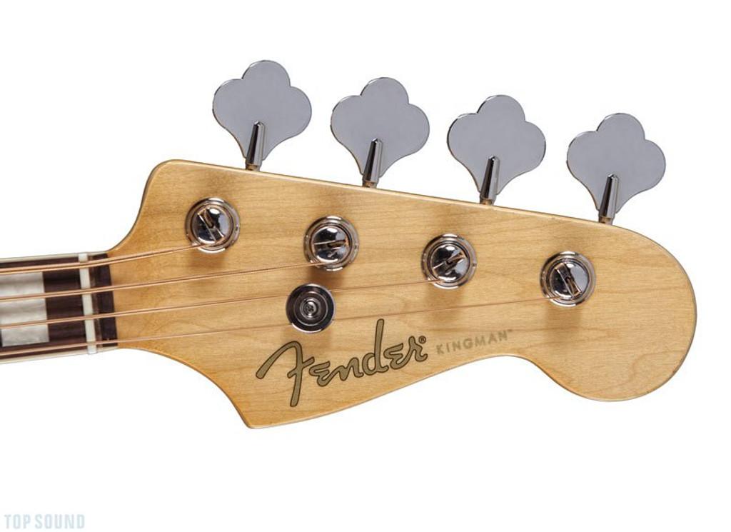 Fender- Kingman Bass v2-Headstock