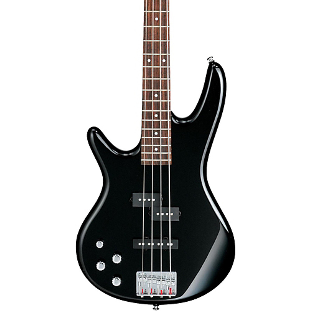 Ibanez Electric Bass- Lefty - Front Close Up