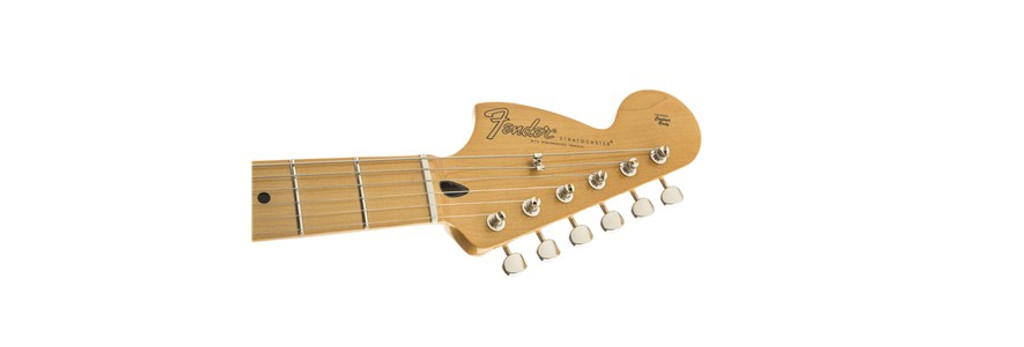 Fender Hendrix Stratocaster w/ Reverse Headstock Headstock Front Facing