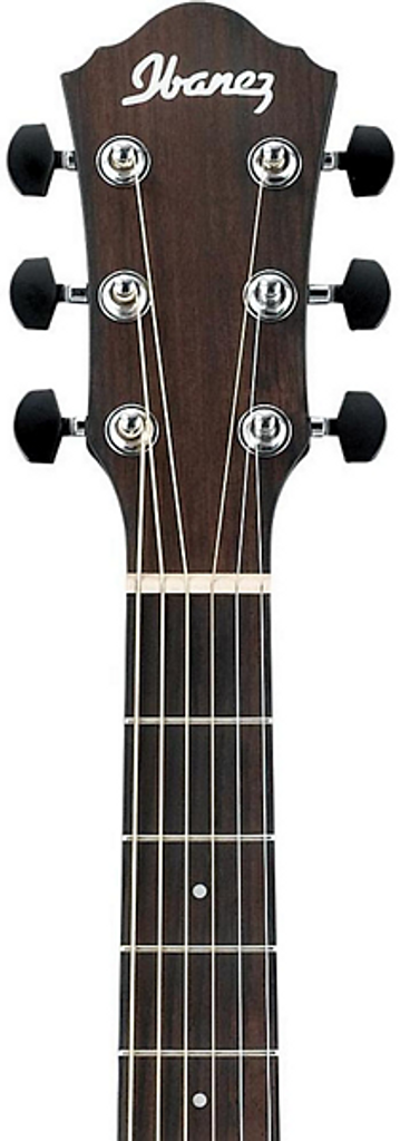 Ibanez AEWC31BC Acoustic Electric Guitar Headstock Front