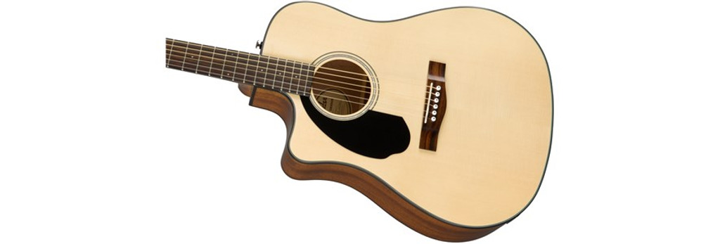 Fender CD60SCELHN Left-Handed Offset Front Facing
