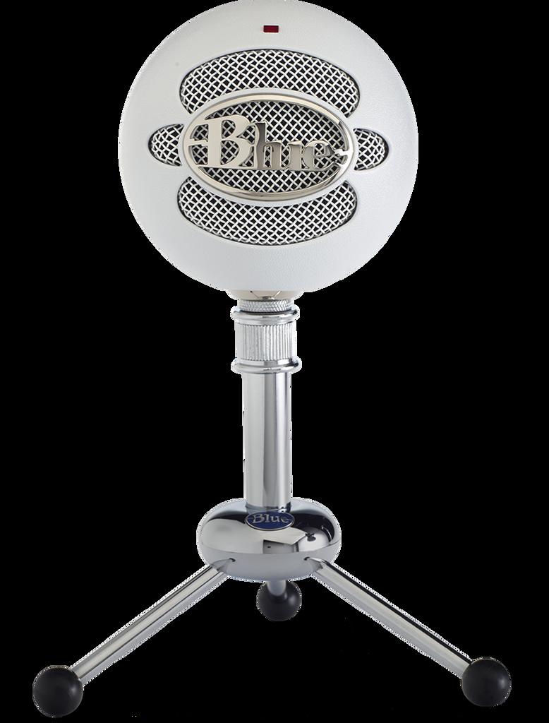Blue Snowball Studio USB Condenser Microphone white