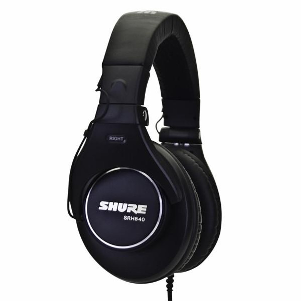 shure-srh840-closed back-headphones,studio-headphones