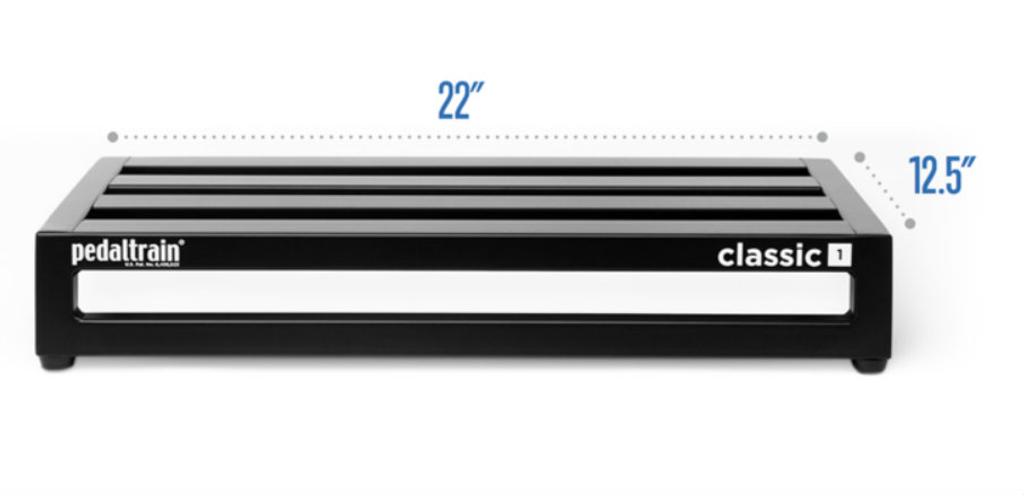 Pedaltrain Classic 1 with Soft Case dimensions