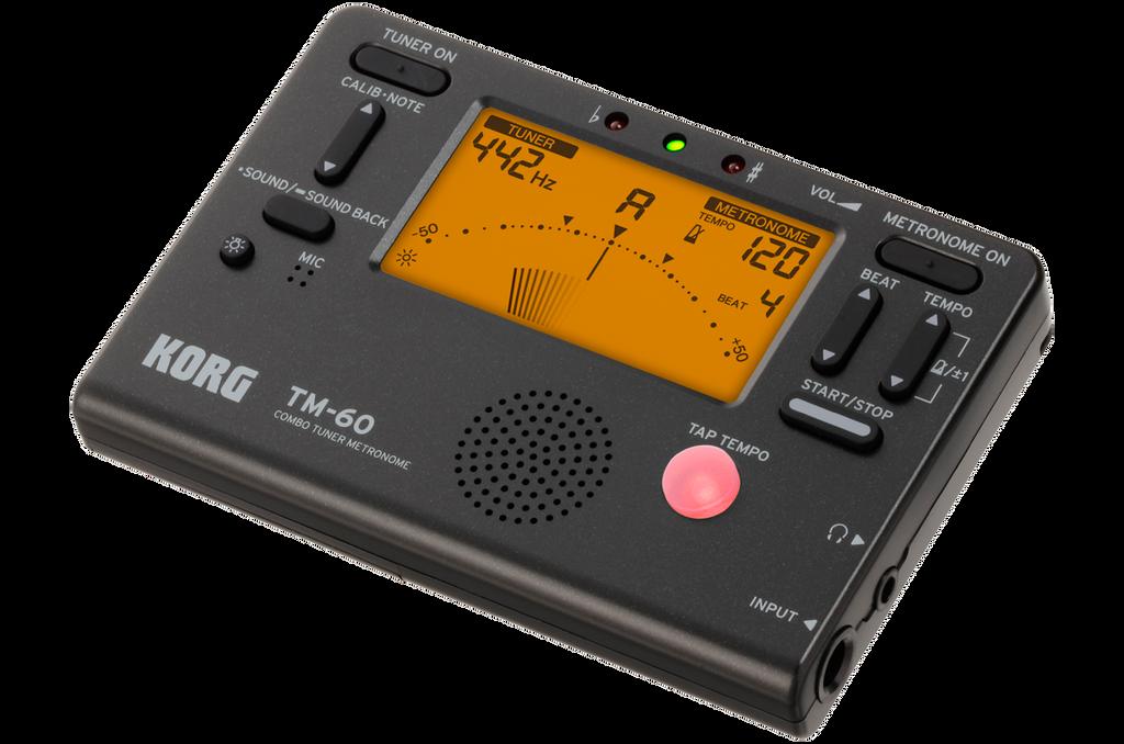 Korg TM60BK Combo Tuner / Metronome