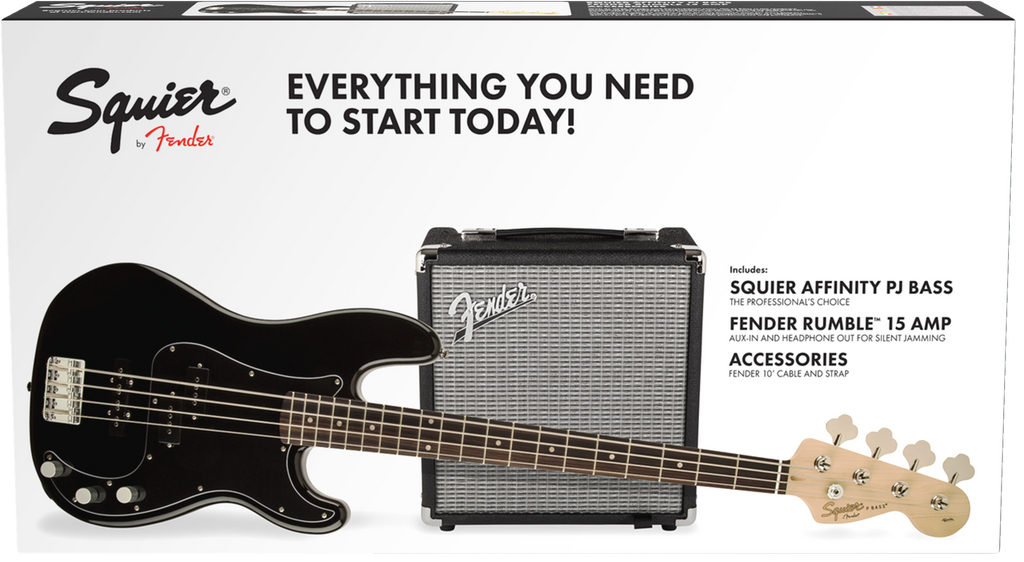 Squier Affinity Precision Bass PJ Pack