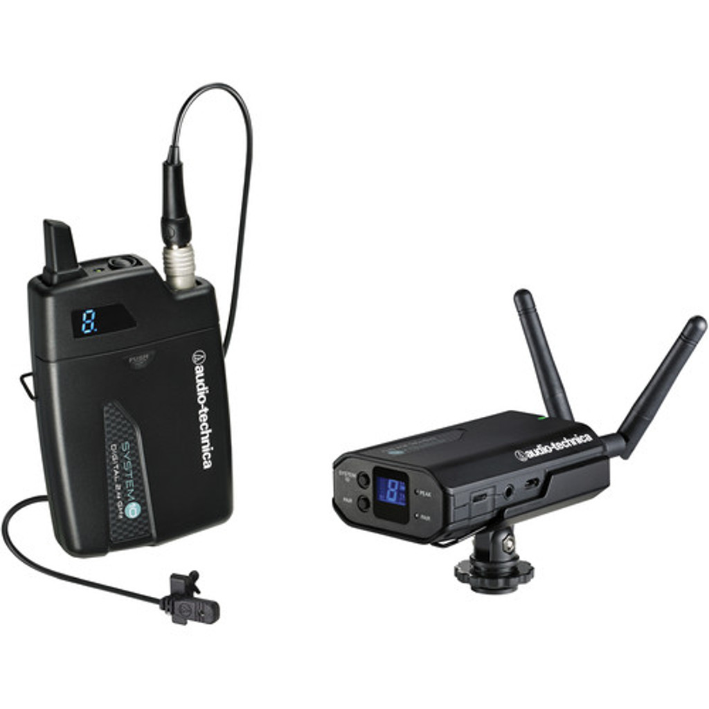 Audio-Technica ATW1701L Portable Camera Mount Wireless Lavalier System