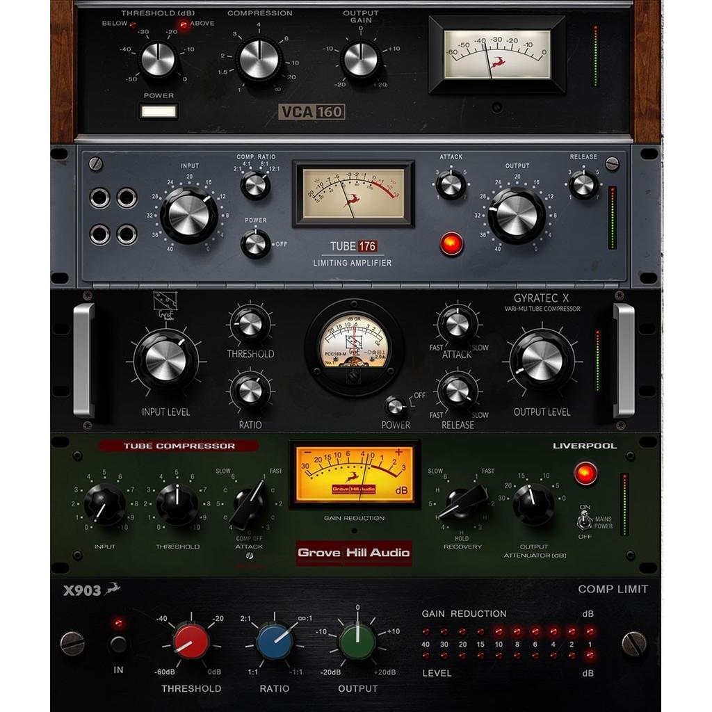Antelope Discrete 4 Audio Interface plug-ins