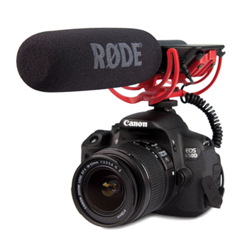 VIDEOMIC Rode Video Shotgun Microphone With Rycote Lyre shockmount