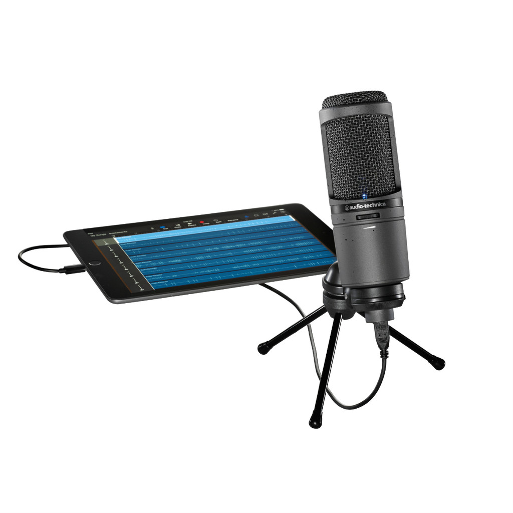 Audio-Technica AT2020USBi Cardiod Condenser USB Microphone