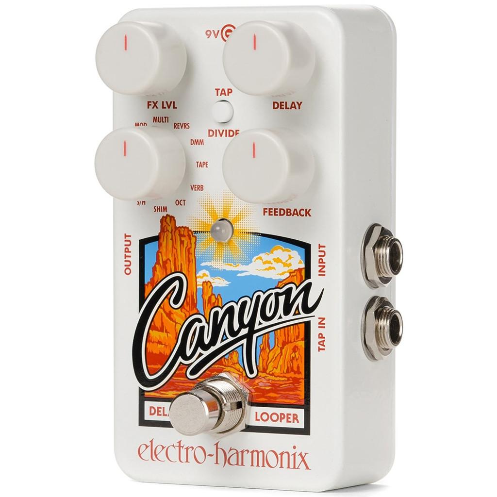 canyon delay  Electro-Harmonix Canyon Delay/ Looper Pedal - Big Dude's Music City