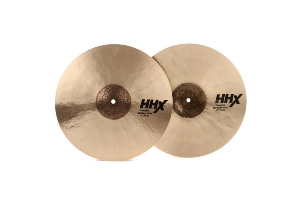 """Sabian 15"""" HHX Complex Medium Hi Hats (11502XCN)"""