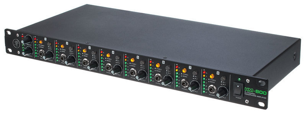 MACKIE HM-800  8-Channel Headphone Amplifier