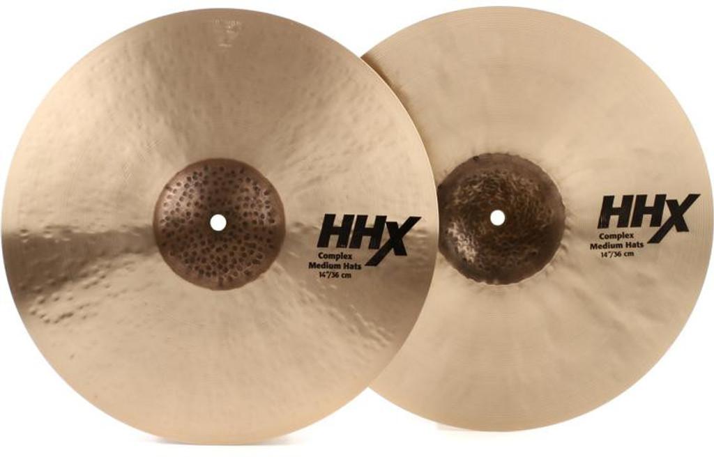 """SABIAN 14"""" HHX Complex Hi Hats (11402XCN)"""