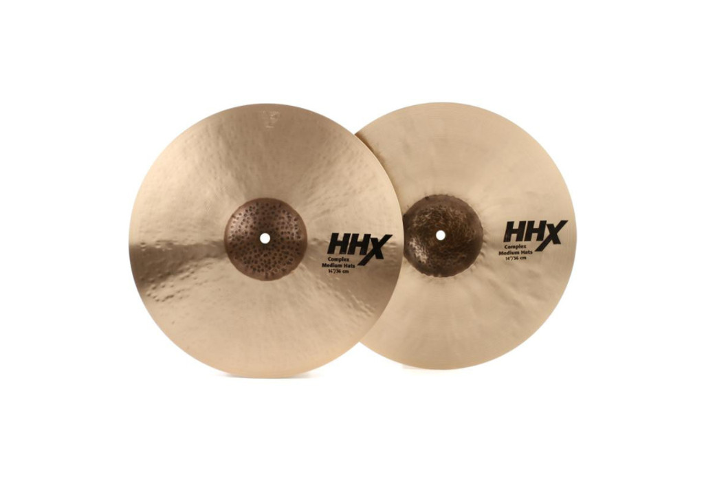 "SABIAN 14"" HHX Complex Medium Hi Hats"