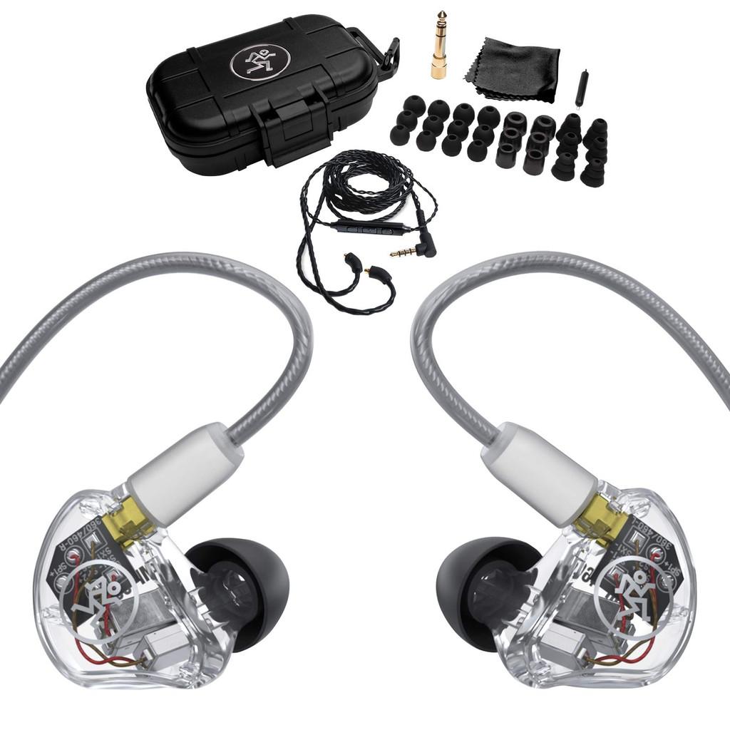 MACKIE MP-360 MP-360 Triple Balanced Armature Professional In-Ear Monitors