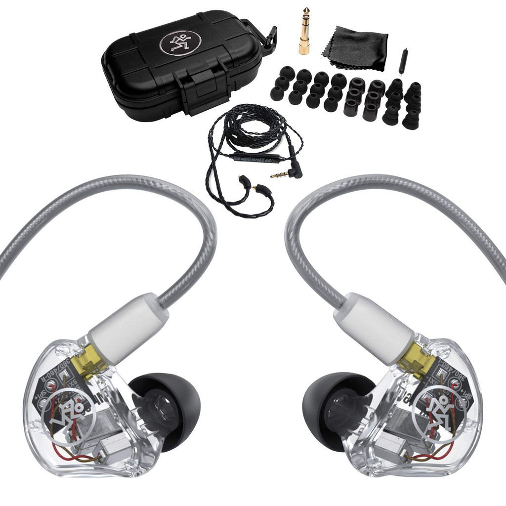 MACKIE MP-460 MP-460 Quad Balanced Armature Professional In-Ear Monitors