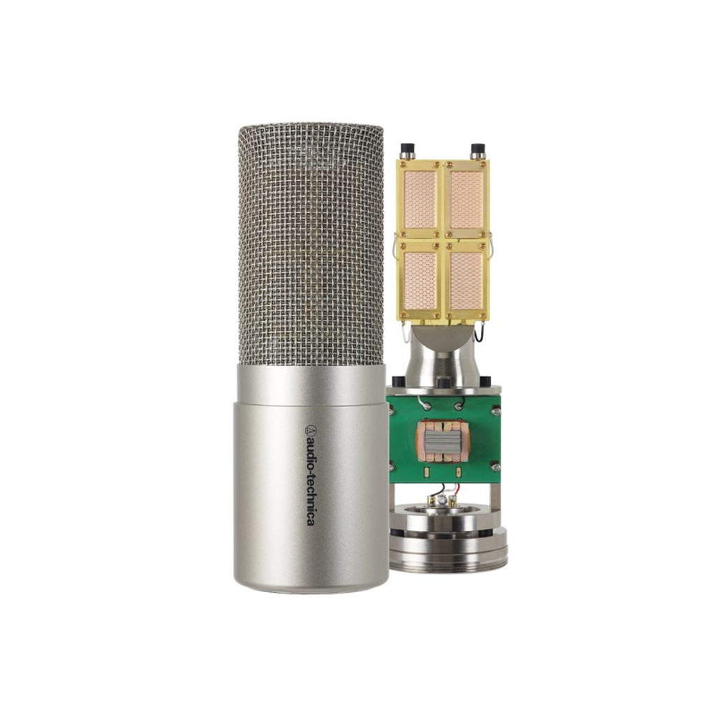 Audio Technica  AT5047   Cardioid studio condenser microphone with transformer-coupled output; side-address; XLRM type output