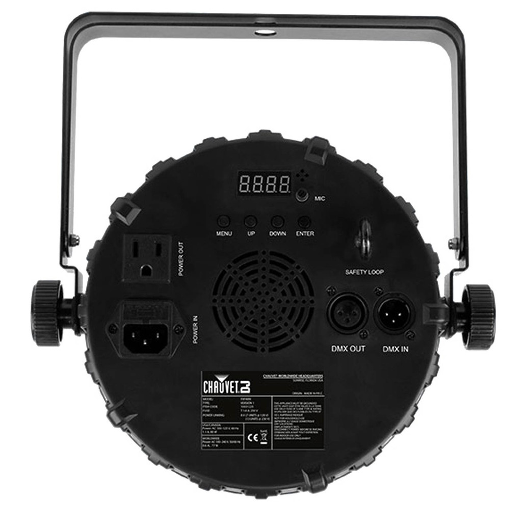 FX PAR9  Dynamic and compact multi-effect fixture.