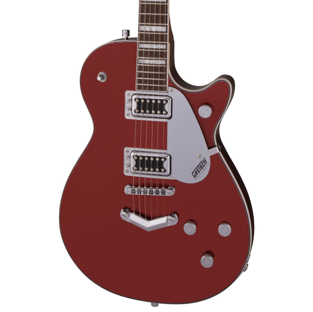 GRETSCH G5220 ELECTROMATIC JET BT SINGLE-CUT ELECTRIC GUITAR FIRESTICK RED W/ V-STOPTAIL (2517110595)