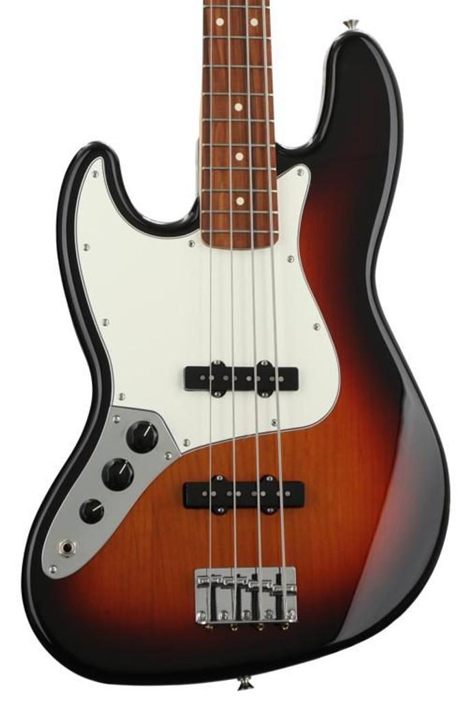 Fender Player Jazz Bass- 3 Color Sunburst (Left Handed)
