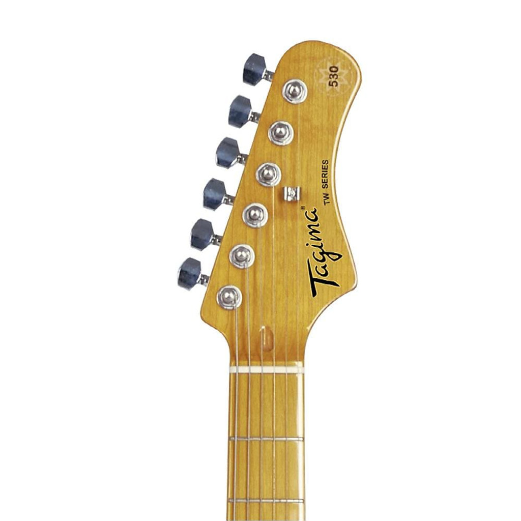 "TG530 ""Woodstock"" Electric Guitar- Vintage White"