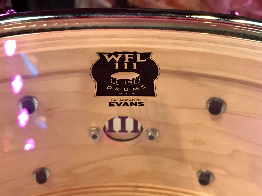 5.5 x 14 Generations Maple Snare - Green Sparkle