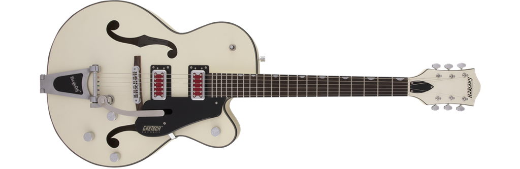 """G5410T ELECTROMATIC """"RAT ROD"""" Hollow Body with Bigsby- Matte Vintage White (2506811505)"""