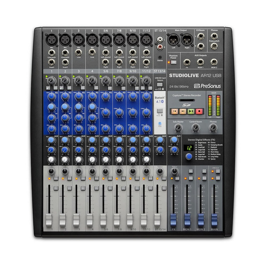 PRESONUS AR12 14-Channel Digital/Analog Mixer