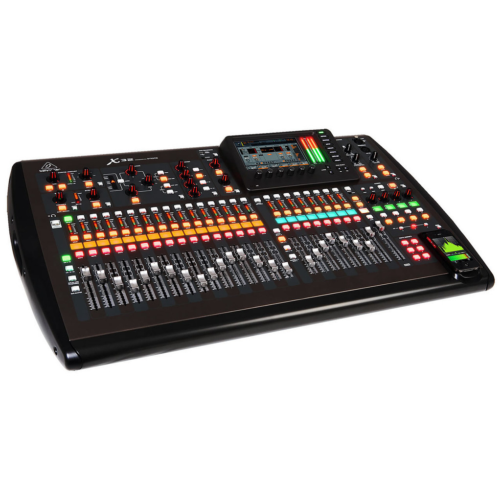 Behringer X32 32-Channel, 16-Bus Total-Recall Digital Mixing Console for Live and Recording Applica