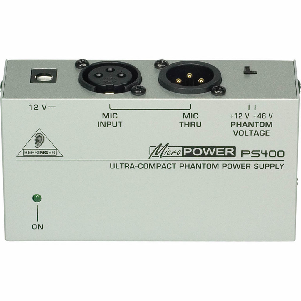 PS400  Phantom power supply