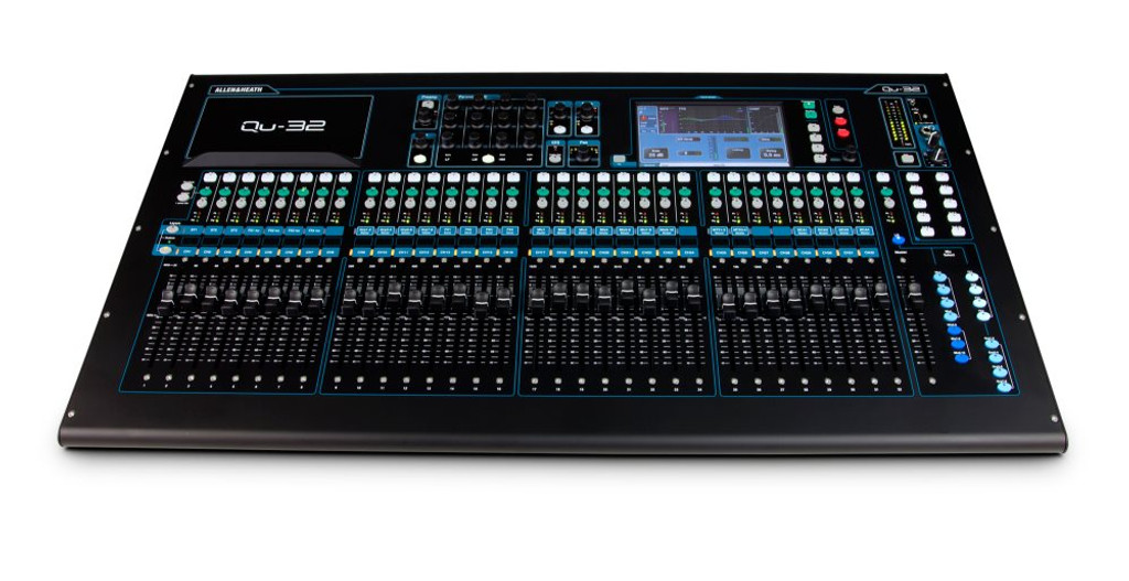 ALLEN & HEATH QU32C 38 in / 28 out Digital Mixer