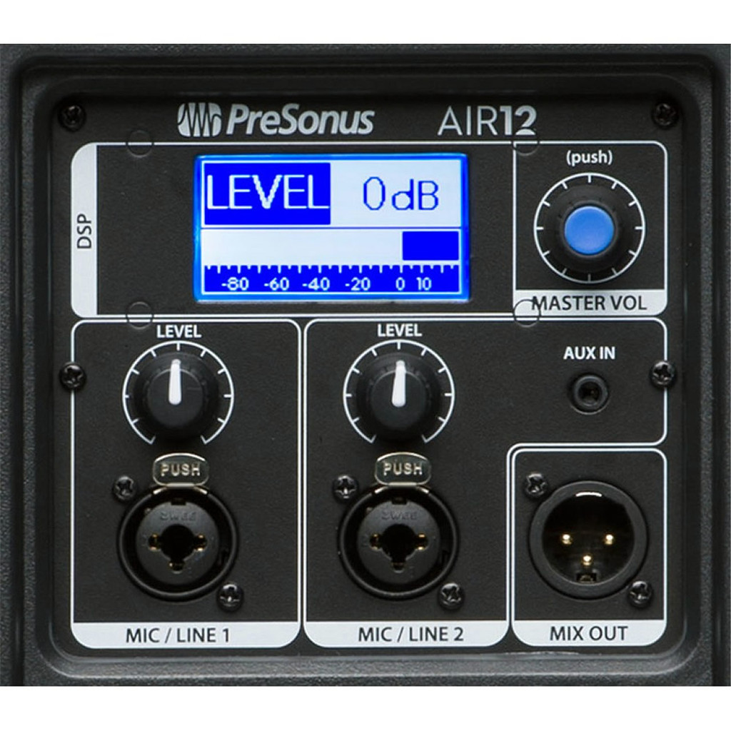 Presonus air12  rear panel