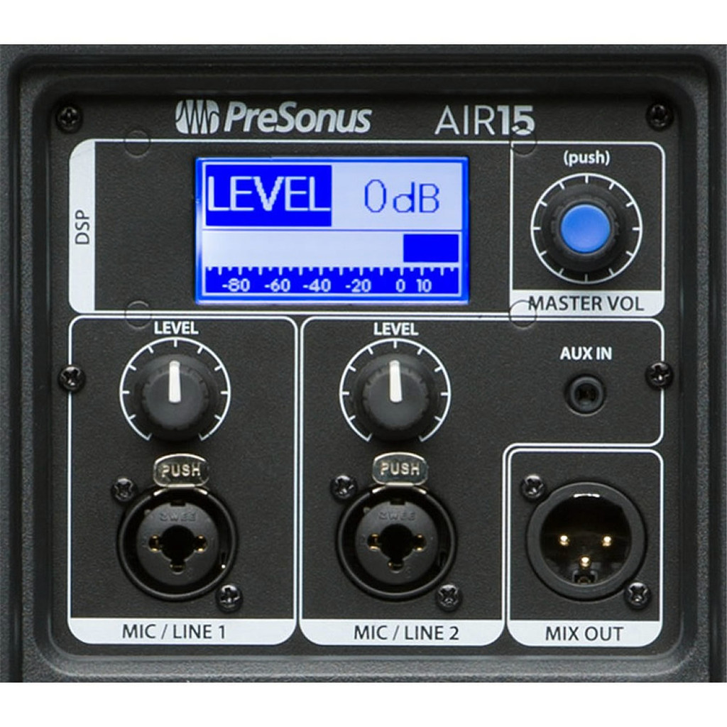 Presonus AIR15 rear panel