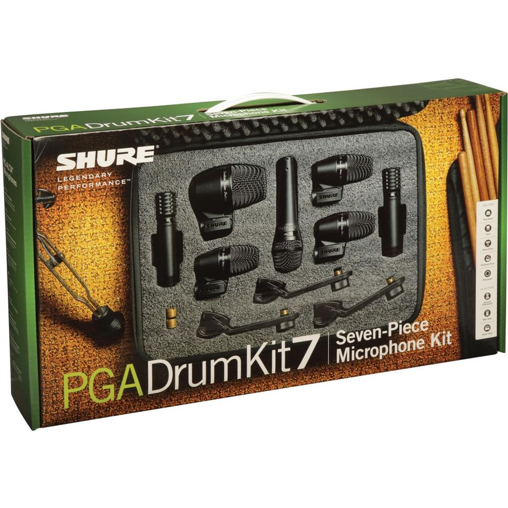Shure PGADMK7 7-Piece Drum Mic Kit