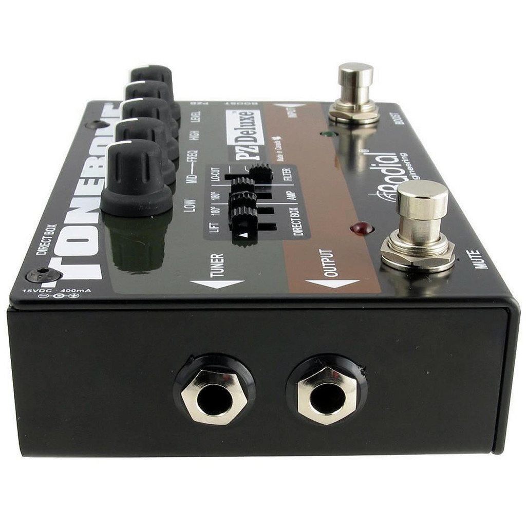 Tonebone R8007320 PZ-Deluxe Acoustic Instrument Preamp w/ Param EQ and DI