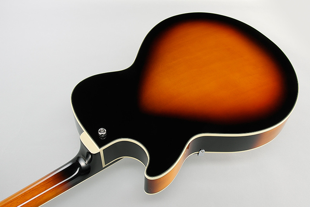 Ibanez AG75BS- Semi-Hollow - Back